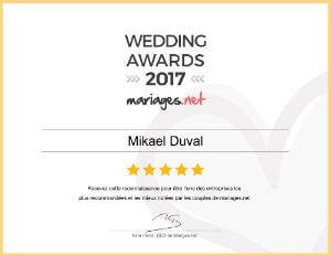 wedding awards mariages.net